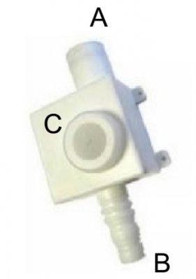 Syfon do skroplin poziomy/pionowy